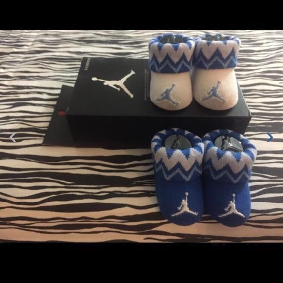 d4e72264d 2PR Nike Air Jordan Baby Booties Boys Girls 0-6M
